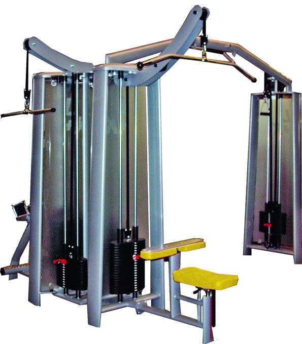 Appareils a charges guidees station de musculation 5 sttion tower e 2 - Station de musculation professionnelle ...